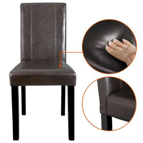 Dining Chair of Room Brown Elegant