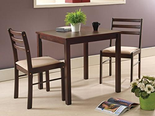 Kings Brand Furniture 3 Piece Dining Room Kitchen