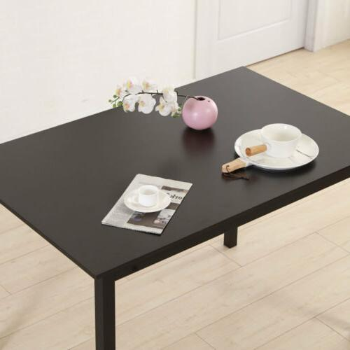Dining Table and 2pcs Benches Kitchen Room