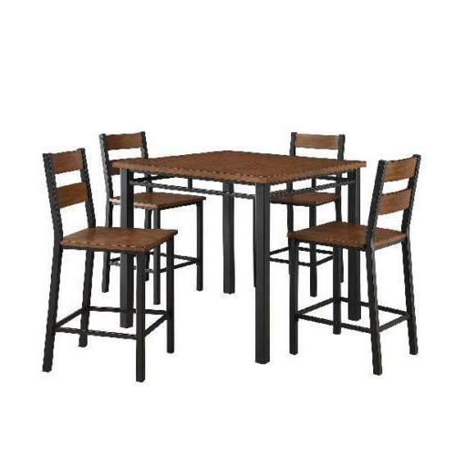 Dining And Chairs 5 Wood Sets