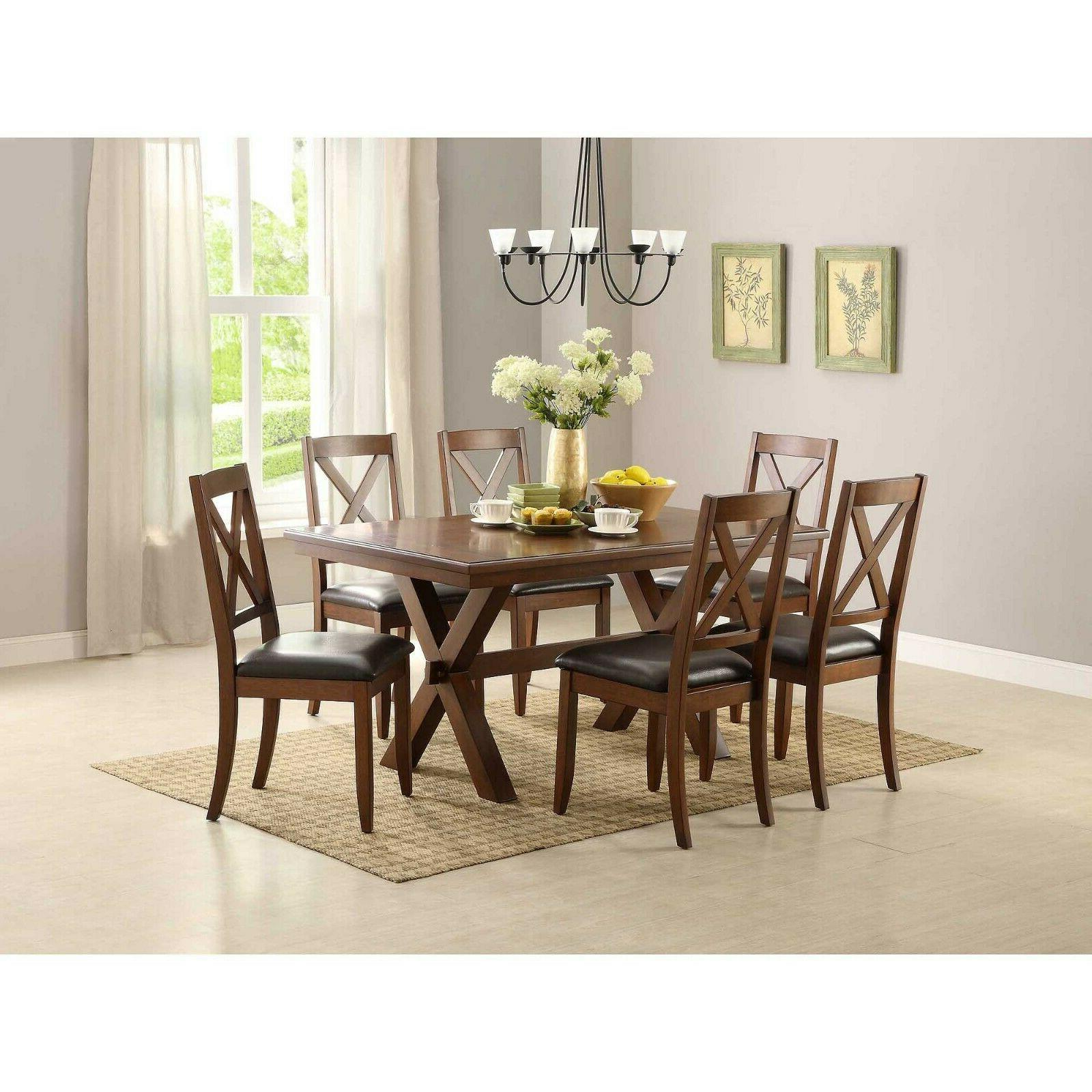 dining room table set farmhouse wooden kitchen