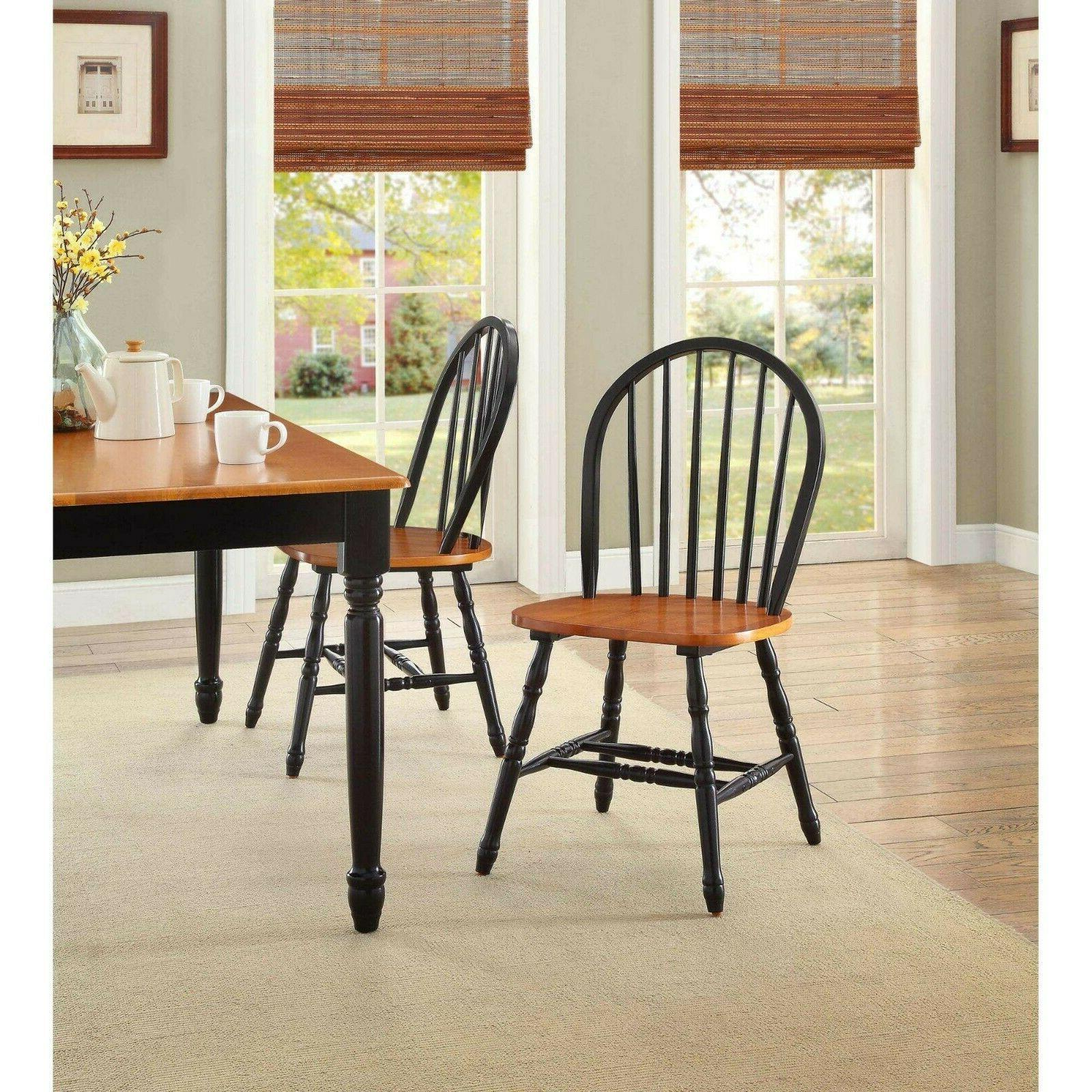 Dining Room Table For 6 Farmhouse Wood Kitchen Chairs