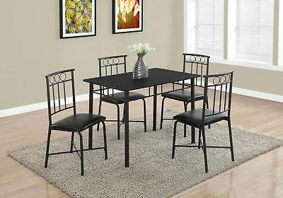 5Pc Dining Black