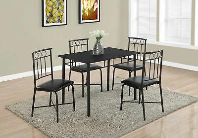 dining set black finish