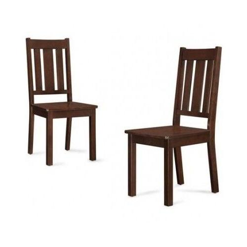 Dining 6 Piece Chairs Wooden Breakfast Nook Wood
