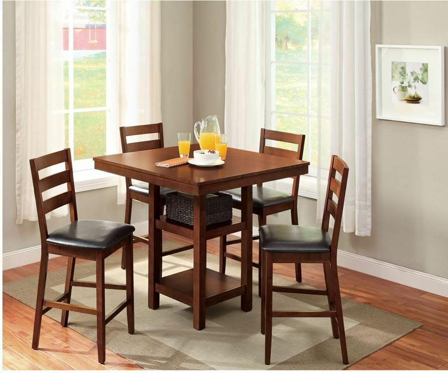 Dining Table Set For 4 High Top Table Chair Small Kitchen 5