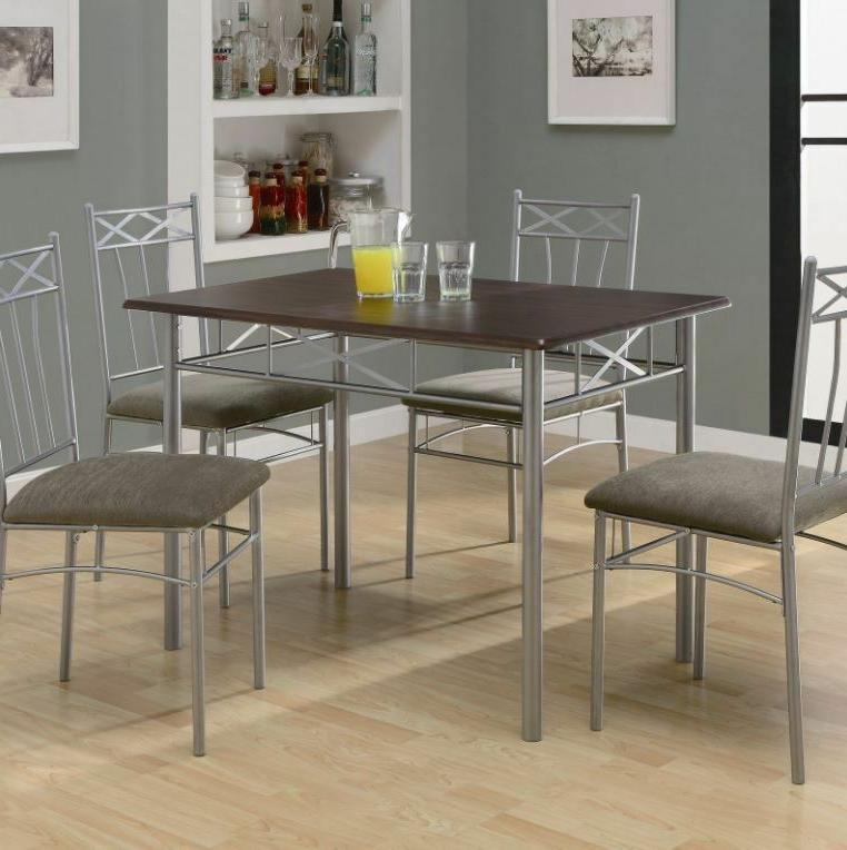Dining Table Set 4 Lunch Dorm Farmhouse
