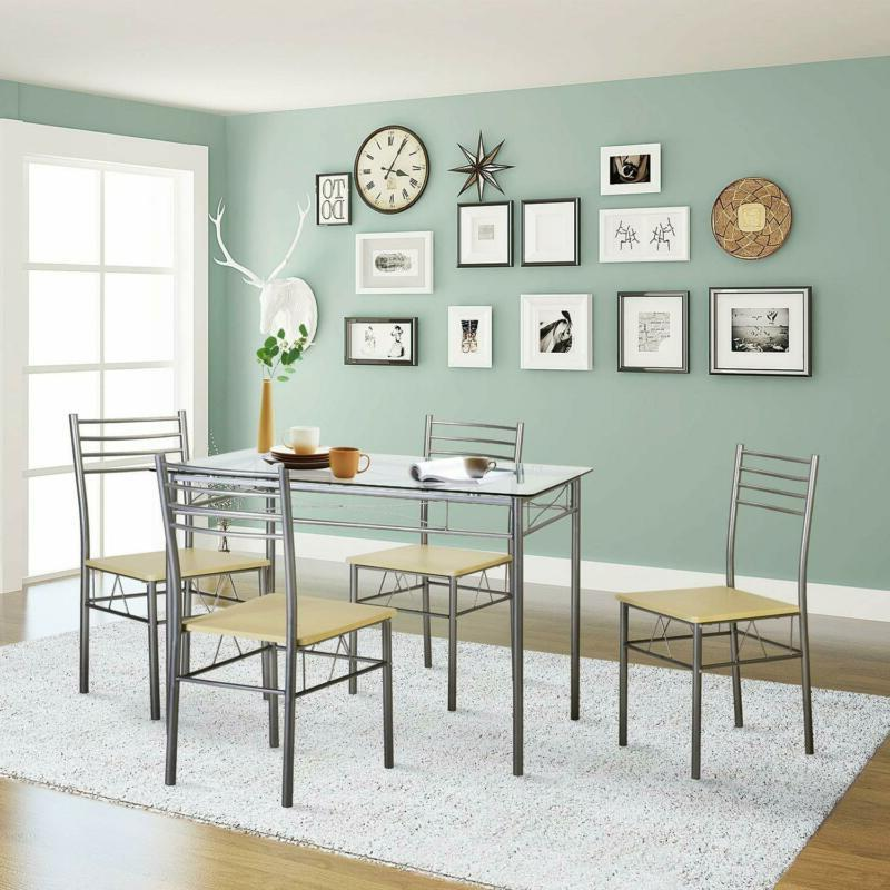 VECELO Dining 4 Chairs