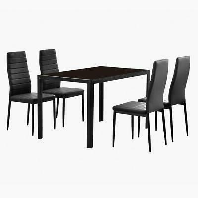 durable 5 piece dining table set 4