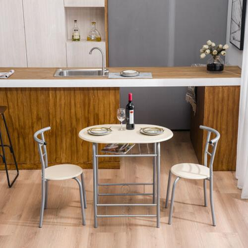 Hot Style Table and 2 Breakfast Desk Chairs 3
