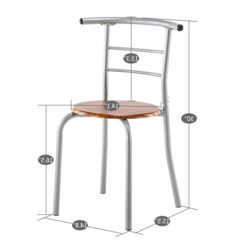 Hot Style Dining Set Table and Breakfast Bistro Chairs 3