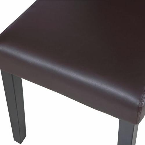 Set of Dining Room Brown