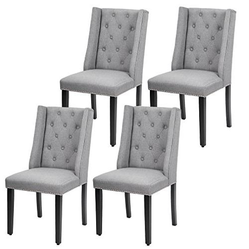 Elegant Dining Chairs Button
