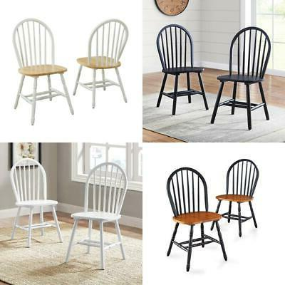 farmhouse dining chairs country kitchen solid wood