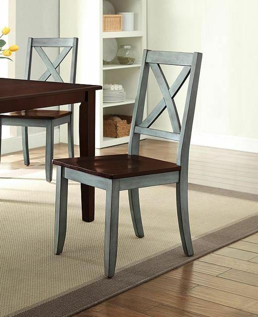 Farmhouse Dining Table Rustic 5 Kitchen Green