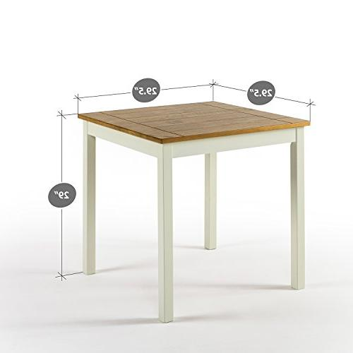Zinus Square Wood Table