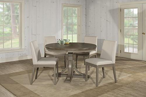 furniture clarion five round dining