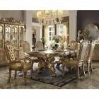 Acme Furniture Gold Dresden 7 Piece Dining Room Set