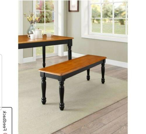 Better Homes and Gardens Autumn Lane 6-Piece Dining Table Oak