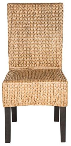 Safavieh Home Collection Luz Natural Wicker Dining Chair , 1