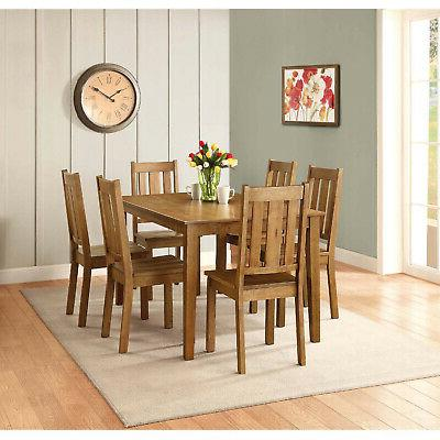 Honey Dining Chair Style Seat Furniture