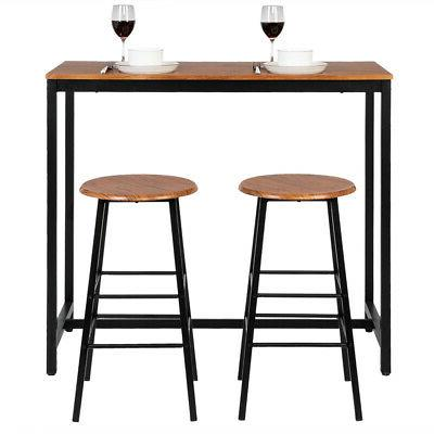 hot style 3 piece dining set table
