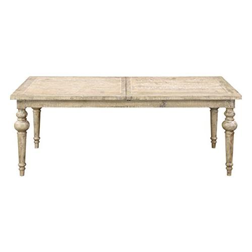 interlude sandstone gray dining table