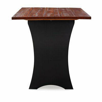 Linon Jackie Solid Dining in Black