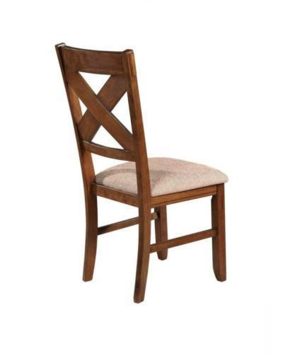 Roundhill Furniture 9-Piece Solid with and Chairs