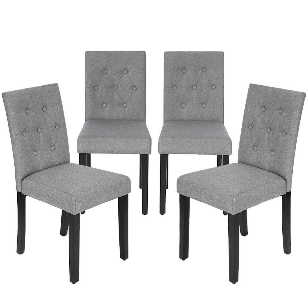 Kitchen Dining Chairs Armless Room Chair Accent Solid Wood M