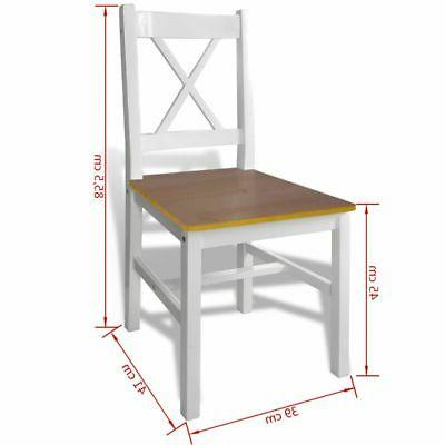 vidaXL Kitchen Wooden Table and