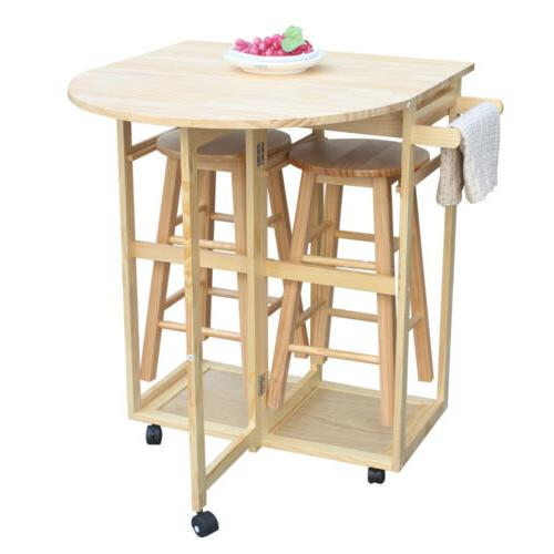 Dining Table Set w/ Stools