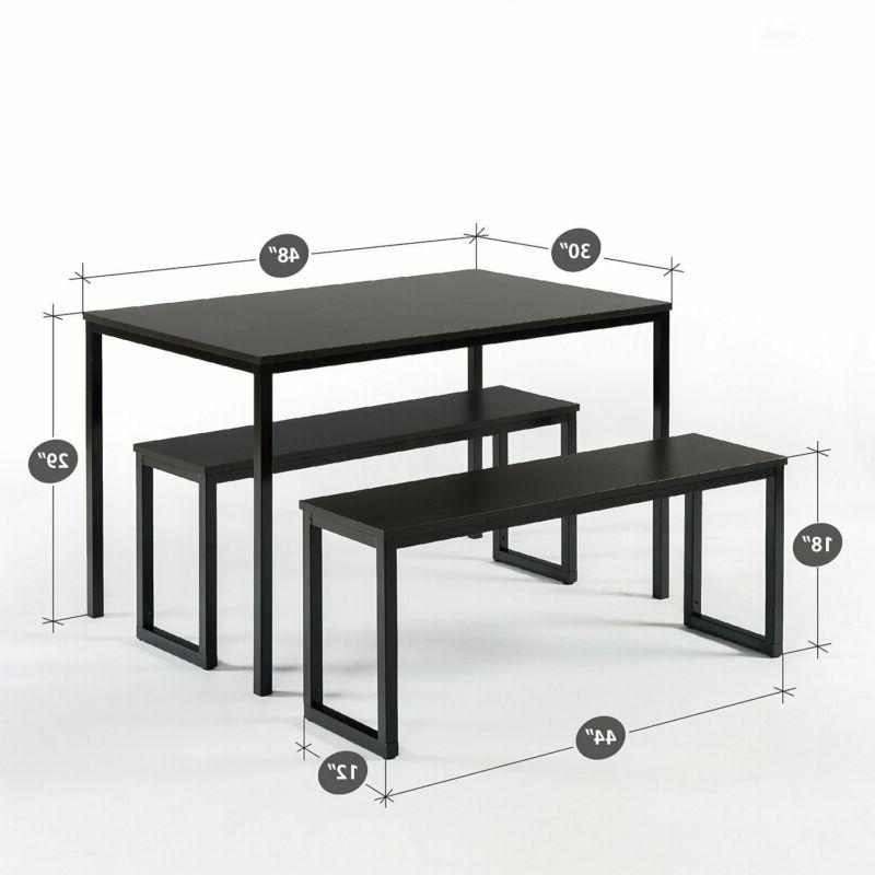 Zinus Collection With Two Benches / 3 Piec