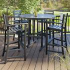 Trex Outdoor Monterey Bay 5 Piece Bar Height Dining Set Char