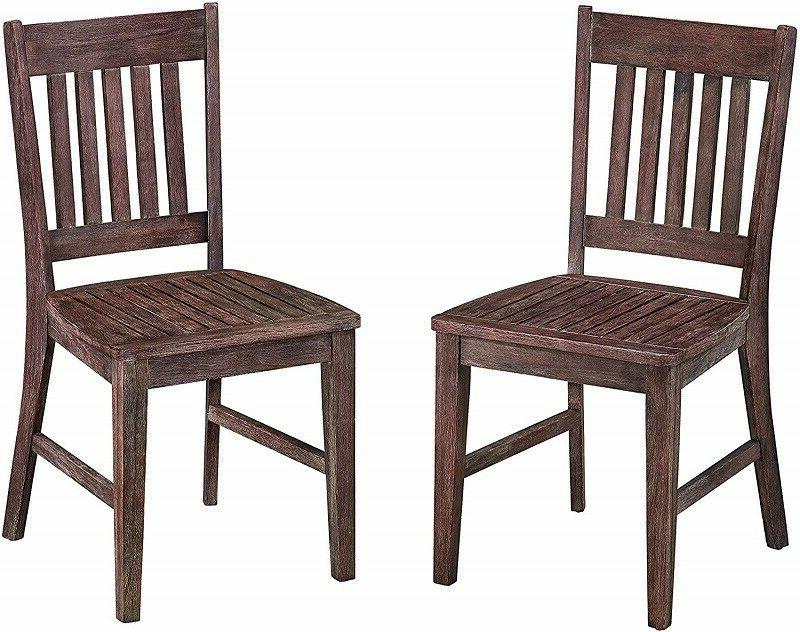 HOME STYLES MOROCCO INDOOR/OUTDOOR DINING CHAIR SET *DISTRES