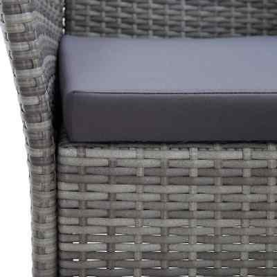 vidaXL Outdoor with Pieces Poly Furniture