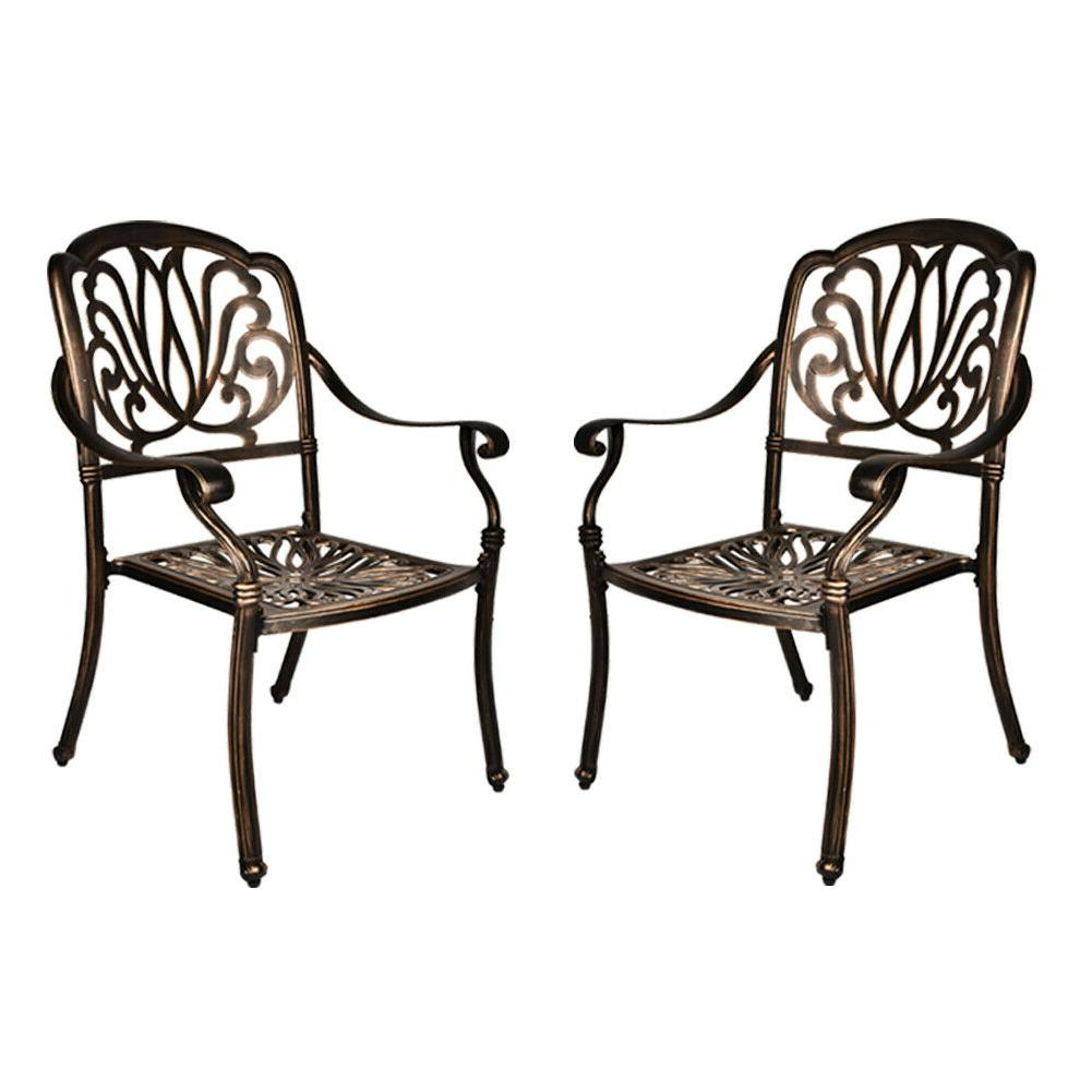 Outdoor All-Weather Cast Aluminum Table