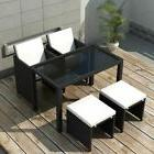 patio outdoor dining set 11 pieces poly