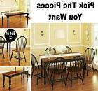 PICK YOUR DINING SET Kitchen Room Sets Dinette Bench Chair T