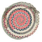 Colonial Mills Print Party Ovals Dining Chair Cushion Set of
