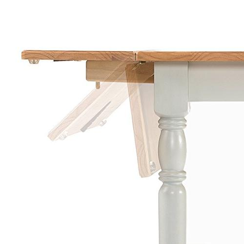 Zinus Leaf Table / Light-Grey and