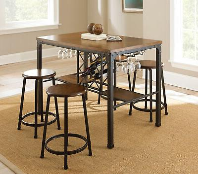 rebecca 5 piece counter height dining set