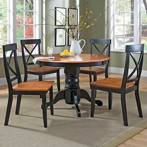 round pedestal dining set cottage