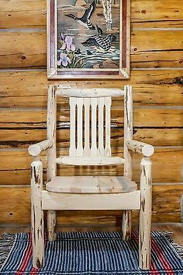Rustic LOG Room Set foot Six Amish Made Unfinished Pine
