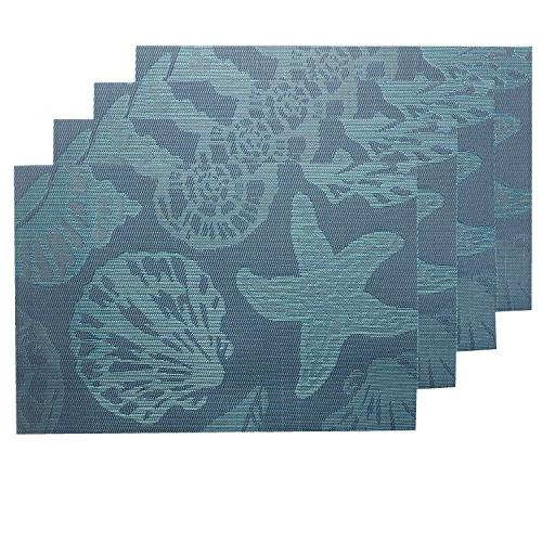 sea place mats beach theme