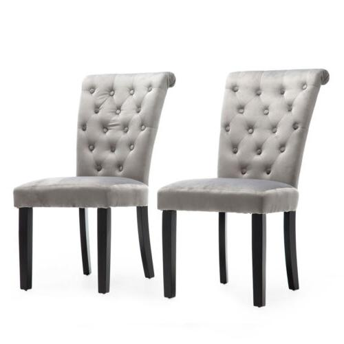 Set of Roll-Top Dining Chair