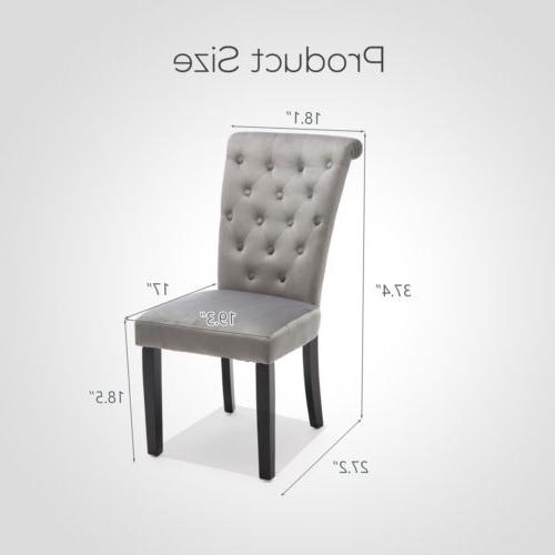 Roll-Top High Chair Upholstered