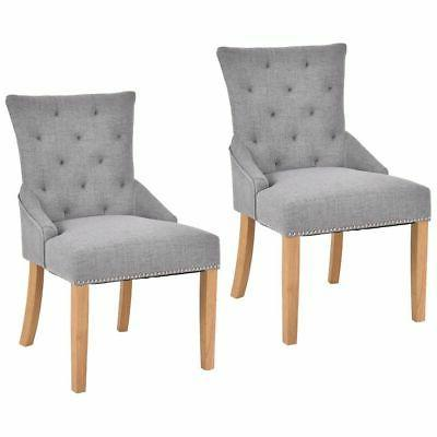 set of 2 armless dining chairs elegant