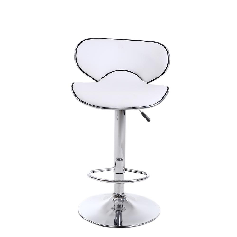 Set Stools Chair PU Seat Counter