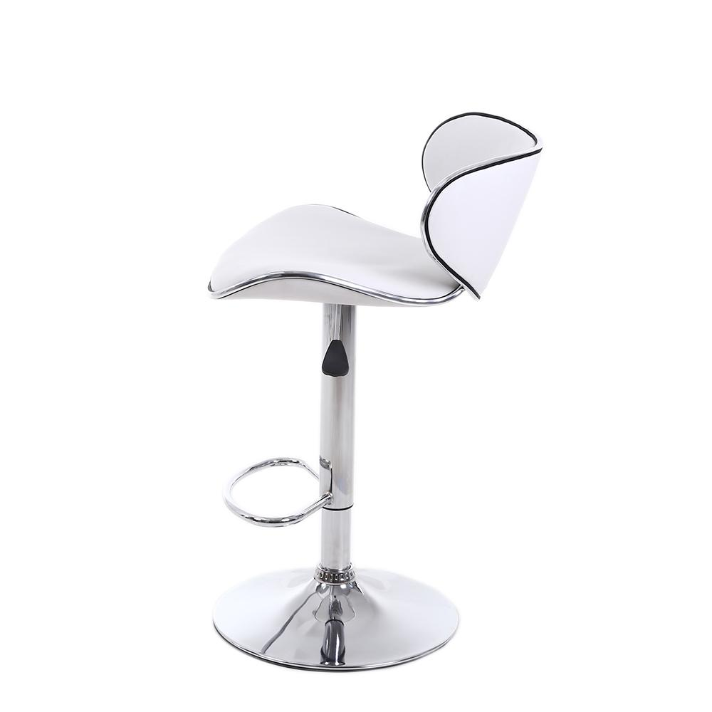 Set Stools Chair Adjustable PU Counter Dining